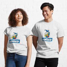"""Donald's Duck"" Travel Mug by clecio | Redbubble Rin Okumura, Blue Exorcist, Dog Shirt, My T Shirt, Amsterdam, Tshirt Colors, Female Models, Chiffon Tops, Heather Grey"
