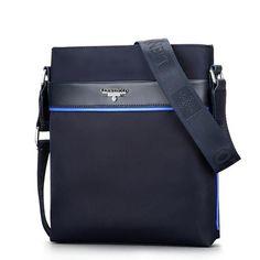 Awen hot sell famous brand design canvas men bag casual business leather mens messenger HMB04