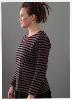 Essential striped cotton top – Essential stripes – GUDRUN SJÖDÉN – Webshop, mail order and boutiques | Colorful clothes and home textiles in...