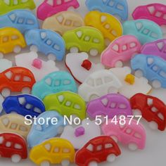 500x New Auto Plastic the Button / Sewing lots Mix Free Shipping Free Shipping $22.99