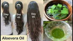 My Grandma's Secret Recipe for Double Hair Growth - Aloevera Hair Oil to get Long hair, No Hair Fall - YouTube