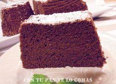 Con tu pan te lo comas: BIZCOCHO DE CHOCOLATE (Microondas)