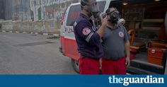 Guardian photographer and film-maker Sean Smith spent 48 hours patrolling the streets with Bethlehem Ambulance, in constant action and reflecting on the state of unrest