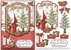 Image result for free christmas decoupage