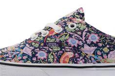 Sneaker Fiend Mag: Vans X Liberty Of London Art Fabrics Pack