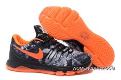 30665befaf96  Opening Night  Nike KD 8 Black White-Team Orange Copuon Code. Cheap Nike  Running ShoesBuy ...