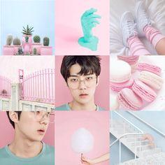EXO Sehun Lucky one treaser PASTEL aesthetic