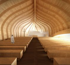 New Church of Våler Proposal (beautiful design for a place of worship)