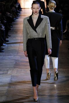 YSL -- bring the 80's powerdressing to the table