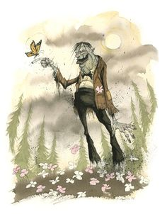 Signed and numbered by Gris Grimly!