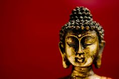 Buddha on Red