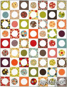 Dot Party Quilt Pattern - The Virginia Quilter