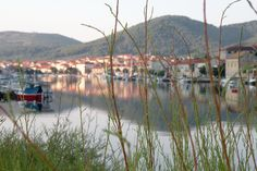 Vela Luka early in the morning