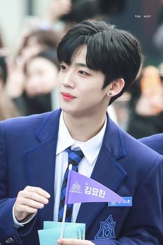Kim Yohan | ProduceX101 #Producex101 #Produce101 #Produce_X_101 #KimYohan #Yohan #김요한 #요한 #프로듀스 #프로듀스101 #프로듀스x101 #프로듀스_x101 #프로듀스엑스101 #OUI Lee Dong Wook, Listening To Music, My Music, Yohan Kim, Who Are You School 2015, Love U Forever, Steve Aoki, Top 5, Devon Aoki