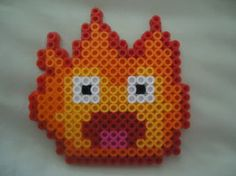 Calcifer from Howl's Moving Castle by PerlerHime