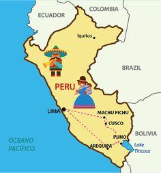 Mapa do Peru