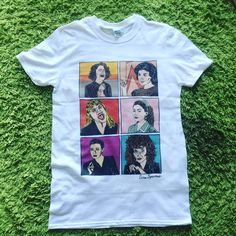 Women of Twin Peaks Large White T-Shirt by ThatSparrowBoy on Etsy