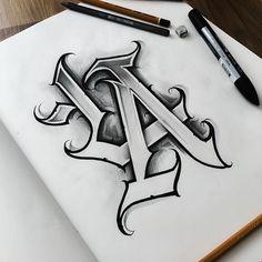 Graffiti Lettering Fonts, Chicano Lettering, Tattoo Lettering Fonts, Lettering Design, Clock Tattoo Design, Sketch Tattoo Design, Ace Of Spades Tattoo, Text Tattoo, Tattoo Arm