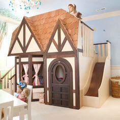 Kids Playhouse Beds Design, Pictures, Remodel, Decor and Ideas