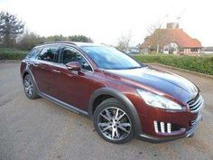Used 2013 (63 reg) Red Peugeot 508 Rxh 2.0 e-HDi Hybrid4 5dr EGC for sale on RAC Cars