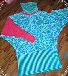 Tutorial für mein Bigshirt für jede Größe!