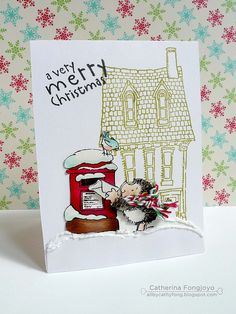 Hedgie sending merry mail by cathy.fong, via Flickr