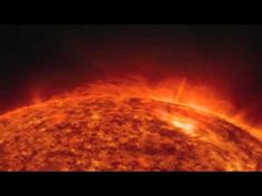 Solar Magnetic Fireworks On Display - Time-Lapse Video