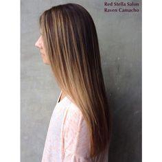 Beautiful sun kissed balayage! @Red Stella Salon
