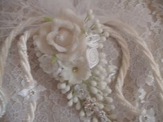 Rope Cord Style White Wedding Lasso Big Flower lazo by NewBrideCo Wedding Lasso, Wedding Ceremony, My Perfect Wedding, Big Flowers, Traditional Wedding, All Things, Cord, Bridal, Floral