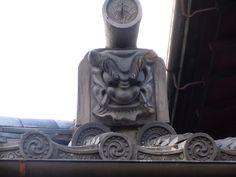 "Japanese roof tiles ""ONIGAWARA""/鬼瓦"