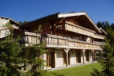Luxury chalet of 450 Les Marmottes, Crans-Montana, Switzerland Montana, Switzerland, Skiing, Traditional, Holidays, Mansions, Luxury, House Styles, Real Estate