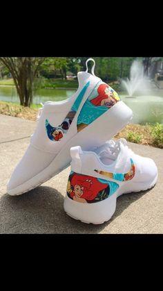Little mermaid Nikes