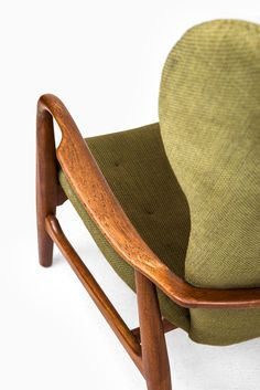 Ib Madsen & Acton Schubell wingbacked easy chair at Studio Schalling