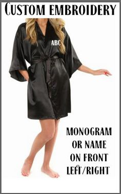 Set of 2 Mr. and Mrs. Robes, Monogrammed Robes, Terry Cloth Robes