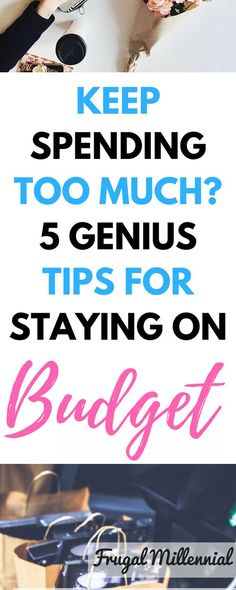5 Genius Tips for Sticking to a Budget Keep Overspending? 5 Genius Tips for Sticking to a Budget via Overspending? 5 Genius Tips for Sticking to a Budget via Living On A Budget, Frugal Living Tips, Frugal Tips, Frugal Meals, Budgeting Finances, Budgeting Tips, Ways To Save Money, Money Saving Tips, Money Tips