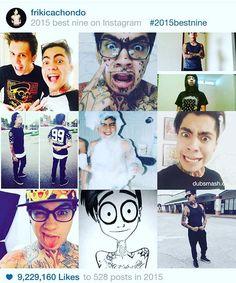 Las mejores 9, gracias por esos nueve millones de likes en este año, los odio Jajajaja.