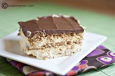 No bake  Eclair cake that I have heard so much about