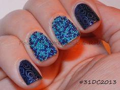Polish. Glitter. Rock & Roll!: 31DC2013 - Blue