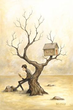 Aupres de mon arbre by felixgi.deviantart.com on @deviantART