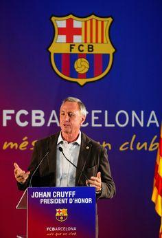 Johan Cruyff, un mestre dins i fora del camp