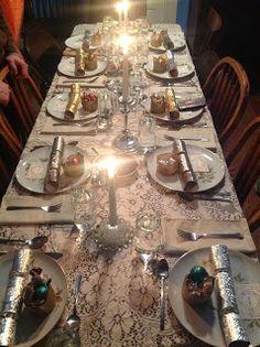 Mangia Mamma's Tiber Tales-Mary's Epiphany Feast Table