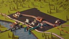 Short animation about new possibilities of old industrial park. It looks better on fullscreen.