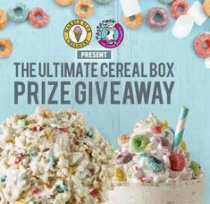 Grand Prize: $400.00 in gift cards to Marble Slab Creamery/MaggieMoo's Ice Cream and Treatery. Complete the form to enter.