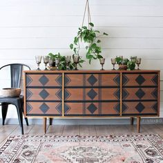 Repurposed Furniture For Sale Online Grey Bedroom Furniture, Paint Furniture, Furniture Projects, Furniture Makeover, Furniture Design, Furniture Stores, Dresser Makeovers, Furniture Online, Bedroom Decor