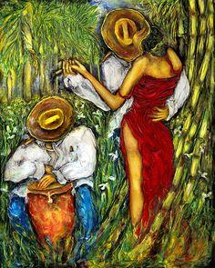 "Love Endures: ""Palmas, Cañas, y Mariposas"" by Humberto Benitez"