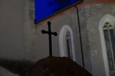 #Kreuz  #lantsch #Lenz #Kirche #Nacht #Graubünden