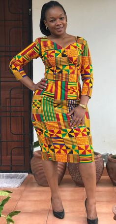 African Dashiki Dress, African Blouses, African Fashion Ankara, Latest African Fashion Dresses, African Dresses For Women, African Print Fashion, African Attire, African Print Dress Designs, African Print Dresses