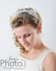 Updated Vintage applique with Crystal Bridal by thejeweledcrown, $250.00