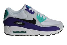 Nike Air Max 90 Leather Donkerblauw Blauw Wit Zwart Purchaze