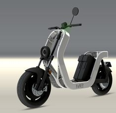 Lo scheletro del ME Electric Scooter Scooter Bike, Moto Bike, Scooter Design, Bike Design, Scooter Custom, E Mobility, 125cc, Futuristic Cars, Cool Motorcycles